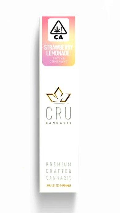 Strawberry Lemonade Disposable Marijuana Pen | CRU Pen | Pot Valet