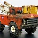 1970s Mighty Tonka Tow Truck Wrecker Restoration