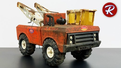 1970s Mighty Tonka Tow Truck Wrecker Restoration