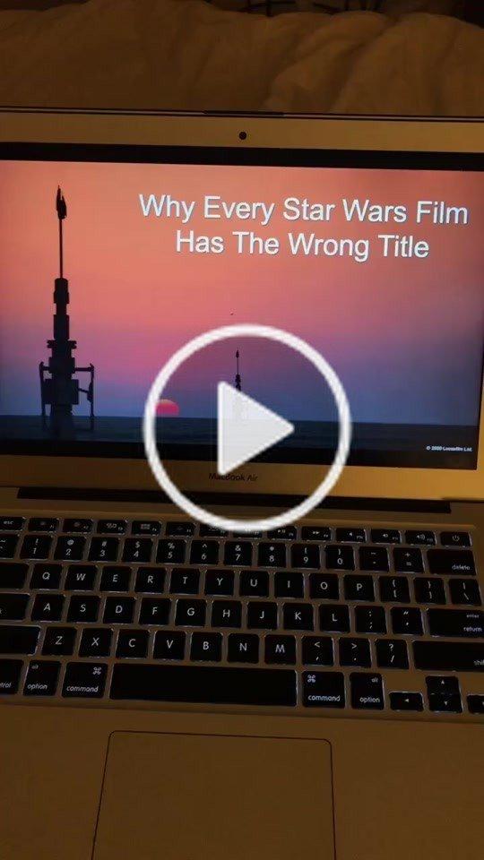 I'm just saying... #starwars #starwarsfan #disney #jedi #sith #fyp #foryoupage #foryou #ChiliDogYum #MyBFF #disneyplus
