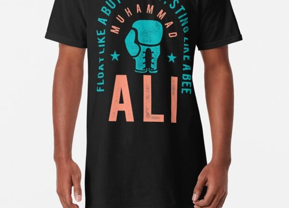 """""""Muhammad Ali The People's Champ"""" T-shirt by 2510 