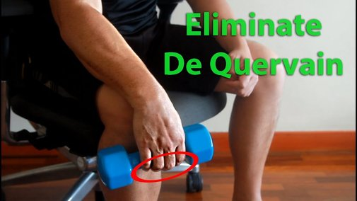 Wrist and Forearm Exercises for De Quervain and Carpal Tunnel Syndrome - YouTube