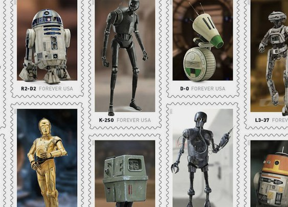 USPS Releasing 'Star Wars' Droid Postage Stamp Series
