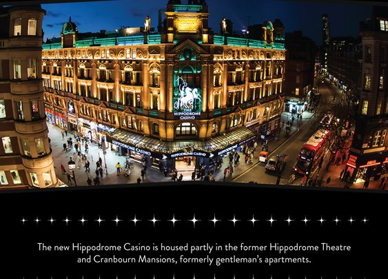 Facts about the Hippodrome Casino Building