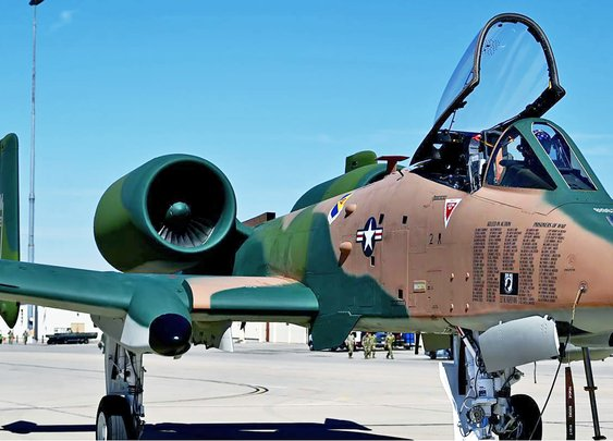 A-10 Warthog Emerges Painted In Green And Tan Camouflage                     | The Drive