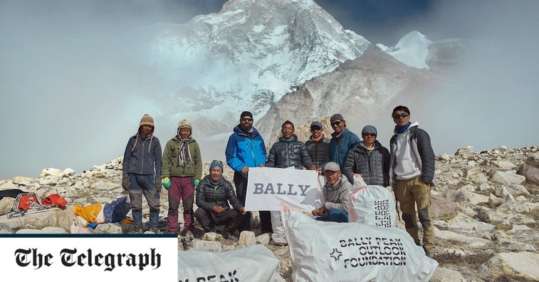 Meet the Nepalese climbers who removed 2.2 tons of rubbish from Everest while the tourists were away