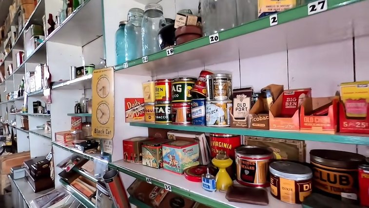 Filmmaker Visits Perfectly a Preserved General Store That Has Stood Frozen In Time Since 1963