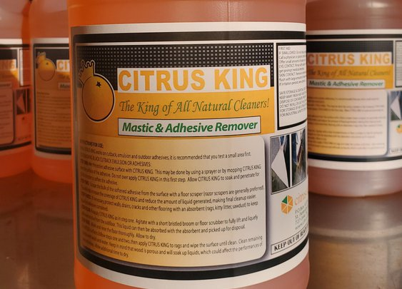 Flooring Mastic and Adhesive Remover - Citrus Depot CITRUS KING