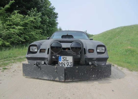 Ghost Car: a 1979 Camaro that was used in Bosnian war