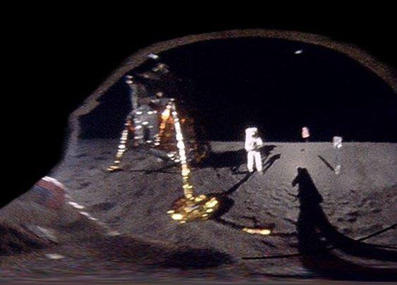 Redditor 'unwraps' iconic Apollo 11 image | Digital Photography Review