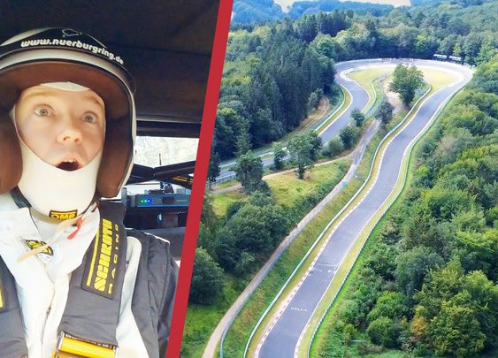 The German toll road that's also a racetrack - YouTube
