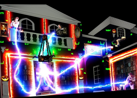 2021 Ghostbusters Projection Show - YouTube