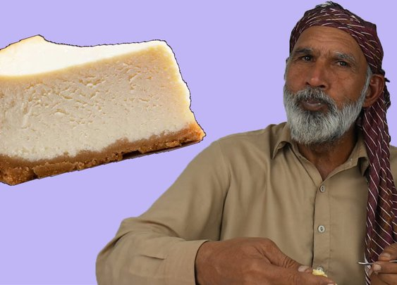 Tribal People Try Cheesecake for the First Time - YouTube