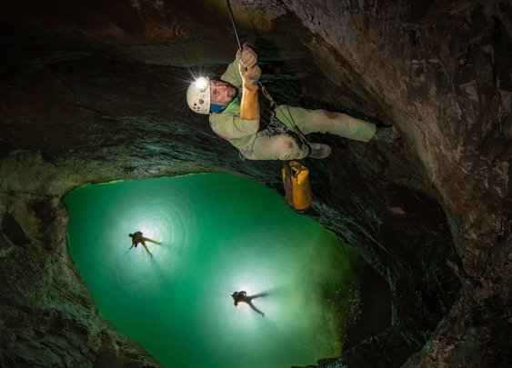 Epic flood sends cavers scrambling for their lives in the world's deepest cave