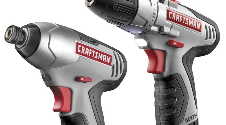 TODAY ONLY: Craftsman 12.0v Lithium-Ion Drill and Impact Combo Kit $39.99