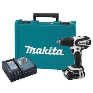 Makita 18-Volt Compact Lithium-Ion Cordless 1/2 in. Driver-Drill Kit $99
