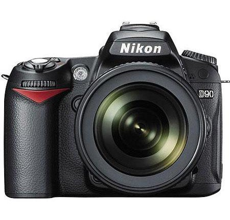 Nikon D90 Digital SLR Camera Kit with AF-S DX NIKKOR 18-105mm f/3.5-5.6G ED VR Lens $599