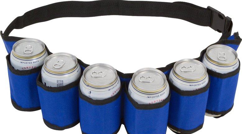 EZ Drinker Can Holster  Belt (Holds 6) $5.99