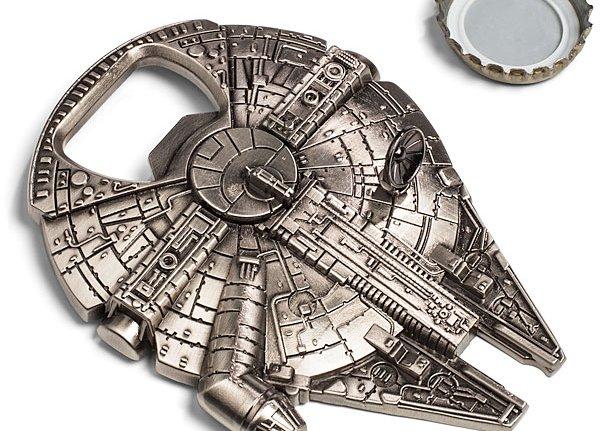 Star Wars Millennium Falcon Bottle Opener $19.99