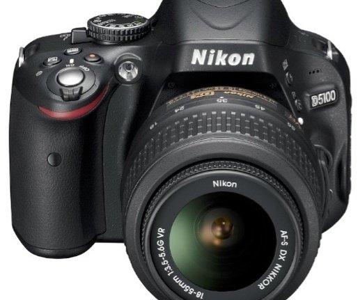 Nikon D5100 16.2MP SLR Camera Kit w/18-55mm VR Lens $379.99 Shipped
