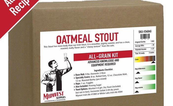 Buy Two Get One FREE on Seasonal All-Grain Recipe Kits