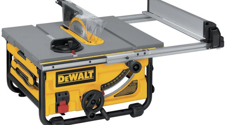 DeWalt 10-inch Compact Table Saw $274.99