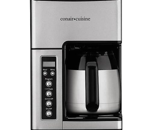 Conair Cuisine 10 Cup Coffeemaker (with built-in grinder) $59.99 Shipped