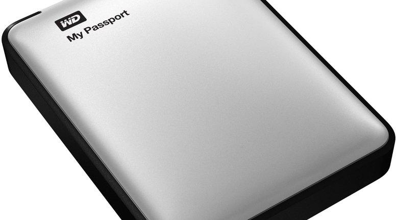 WD My Passport 2TB Portable USB 3.0 External Hard Drive $99.99 + Free Shipping