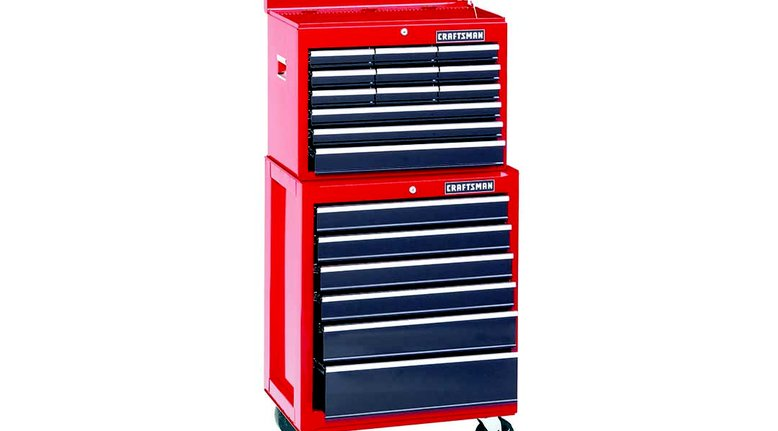 TODAY ONLY: Craftsman 26-Inch Rolling Tool Chest and Cabinet $249.99