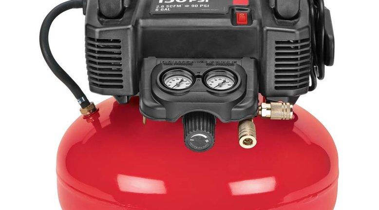 PORTER-CABLE 0.8 Horsepower Air Compressor $99