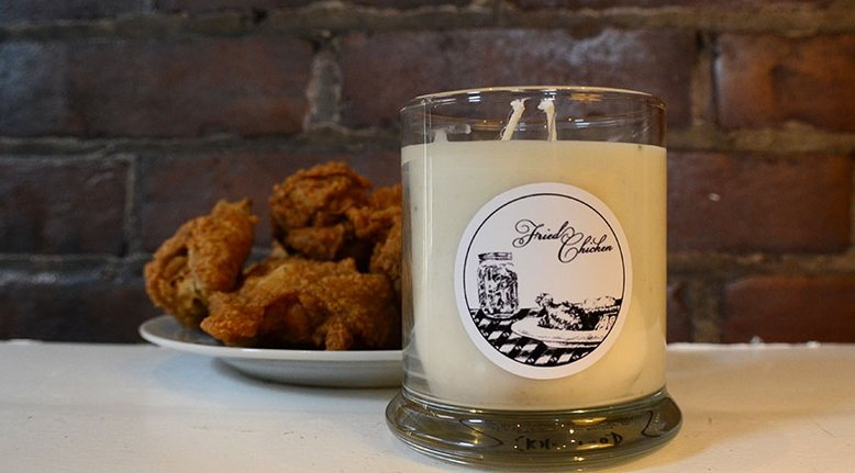 Kentucky Fried Chicken Candle