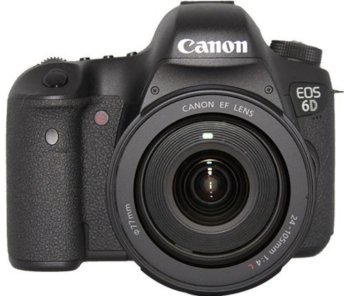 TODAY ONLY: Canon EOS 6D Digital SLR Camera w/ 24-105mm f/4.0L IS Lens $1,899.99