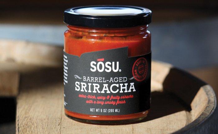 Whiskey Barrel-Aged Sriracha Sauce