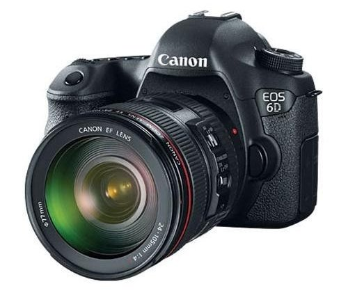 Canon EOS-6D Digital SLR Camera Kit with Canon EF 24-105mm f/4L IS USM Lens $1,999.99