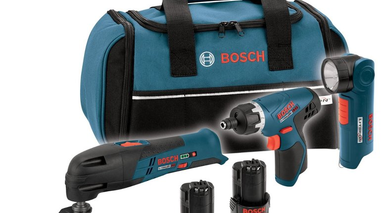 TODAY ONLY: Bosch 12-Volt Lithium-Ion Combo Kit $169