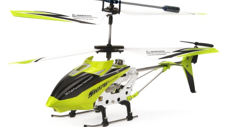 Syma 3 Channel RC Helicopter with Gyro $13.95