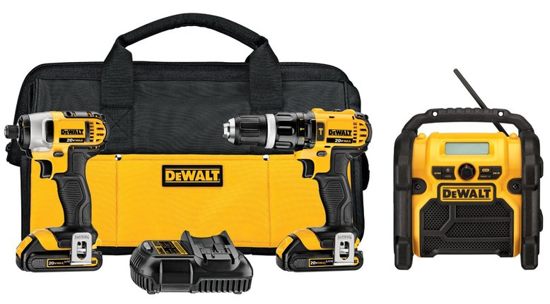 TODAY ONLY: Dewalt 20v MAX Lithium 3-Tool Kit