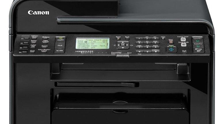 TODAY ONLY: Canon Laser imageCLASS Monochrome Printer (Scanner, Copier, Fax) $84.99