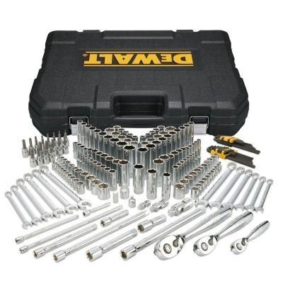 TODAY ONLY: DeWalt 204-Piece Mechanic Tool Set $169