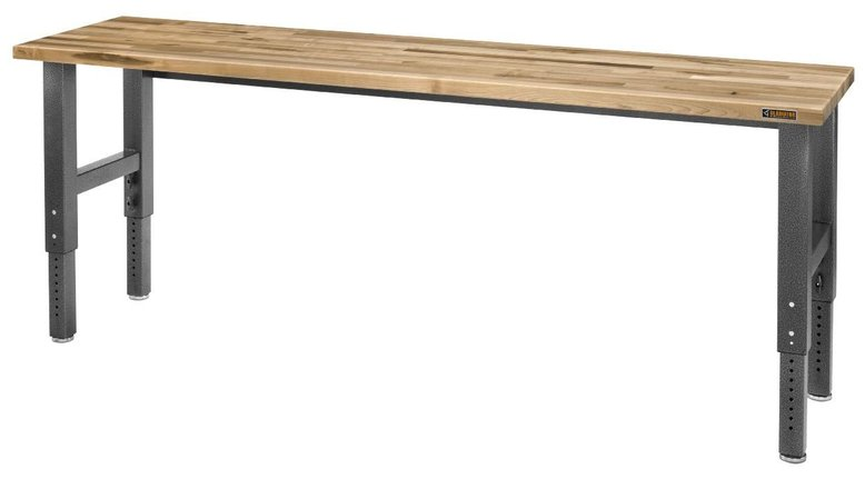 Gladiator Adjustable Height 8-foot Maple Workbench $384.99