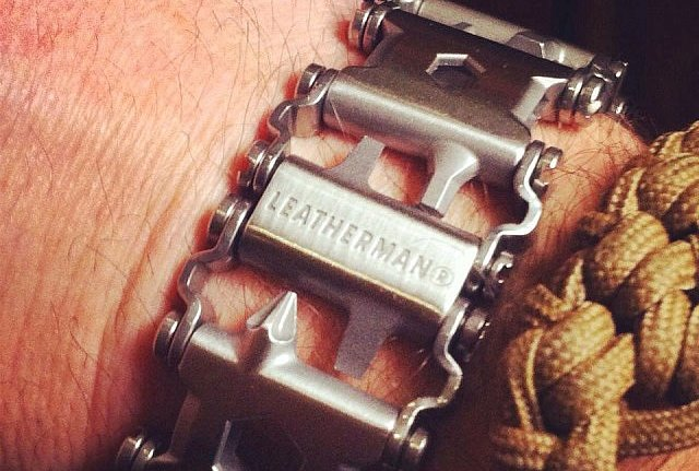 Tread 25-in-1 Leatherman Bracelet