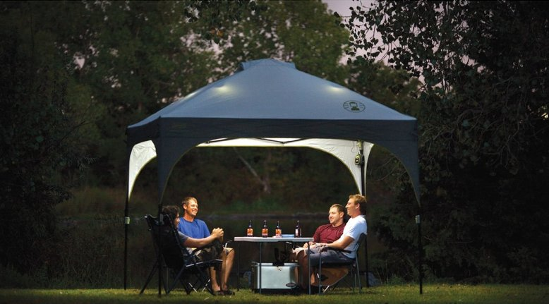 Coleman Lighted Instant Canopy Amp Canopycoleman 13x13