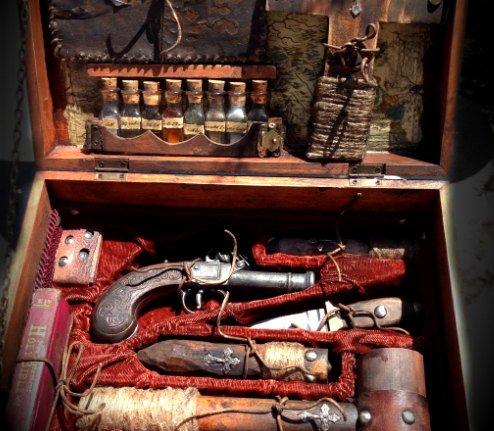 19th Century Traveling Vampire Killer's Kit