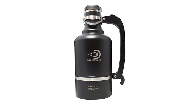 DrinkTanks Growler Keeps Your Beer Cold and Carbonated