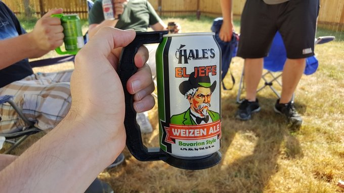 Cansteiner: Turn Any Can Into a Stein