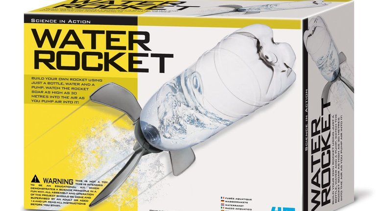 Water Rocket That Shoots 30 Meters Into the Sky