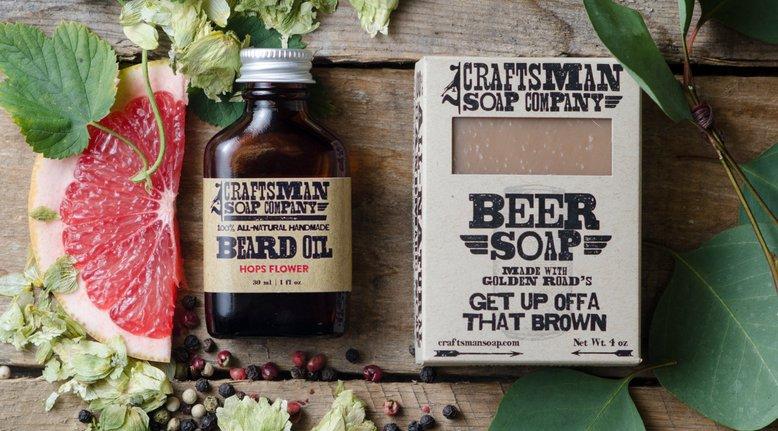 Beer Soap Beard Kit