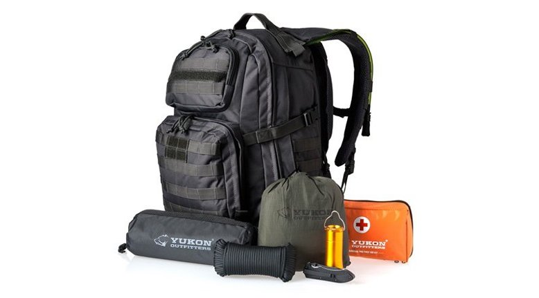 TODAY ONLY: Yukon Outfitters 58-Piece Survival Kit $99.99
