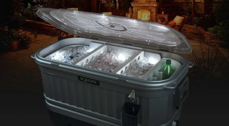 Igloo Party Bar Cooler with Lights