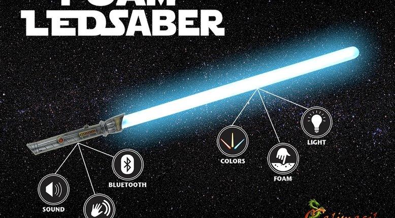 Unbreakable Foam Jedi Lightsaber